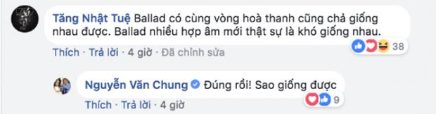 Nguyễn Văn Chung không đồng ý với phát ngôn Ballad thường cùng vòng hòa âm nên dễ giống nhau của Dương Khắc Linh - Ảnh 2.