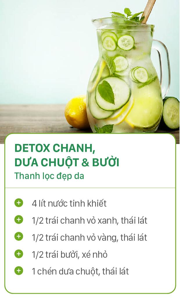 8 công thức detox đơn giản vừa đẹp da vừa chống lão hóa cực hiệu quả - Ảnh 5.