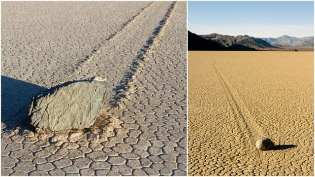 Bí ẩn hàng thập kỷ về hòn đá tự lăn ở Thung lũng Chết có thể đã tìm ra lời giải - Ảnh 1.