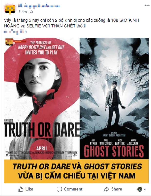 Tin buồn cho các tín đồ phim kinh dị Âu Mỹ: Truth Or Dare bị cấm chiếu - Ảnh 2.