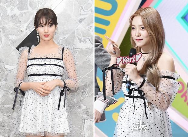 Suzy bị chê diện váy xấu, nhưng nhìn sang Yeri (Red Velvet) mới thấy đẹp hay không là do cách mặc mà thôi - Ảnh 7.