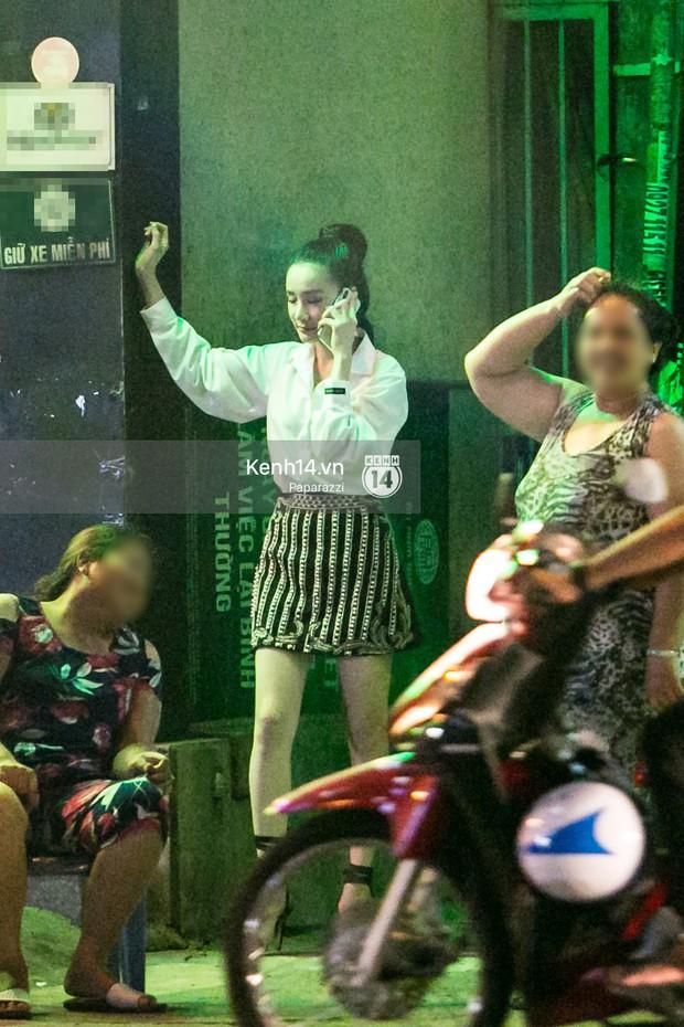 Sau cuộc đụng độ với Khánh My, Nhã Phương rời sự kiện cùng đi ăn ở một quán quen với chị gái - Ảnh 6.