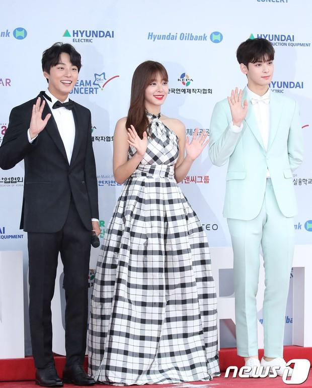 Thảm đỏ Dream Concert 2018: Dàn nữ thần Kpop bị mỹ nhân sexy vô danh lấn át, Seventeen, NCT điển trai như hoàng tử - Ảnh 13.
