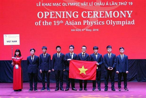Vượt qua 188 thí sinh đến từ 25 quốc gia, học sinh Việt Nam đạt 4 HCV tại Olympic Vật lý Châu Á - Ảnh 1.