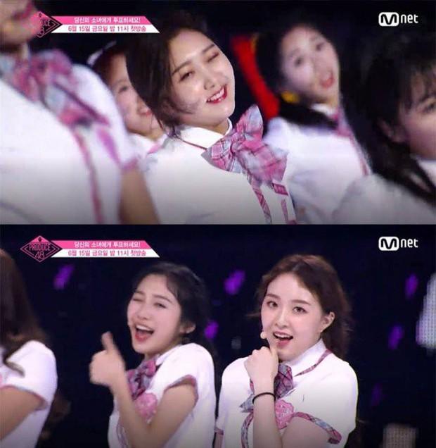 Bắt chước Park Ji Hoon, các cô gái Produce 48 cũng thi nhau nháy mắt lia lịa - Ảnh 11.
