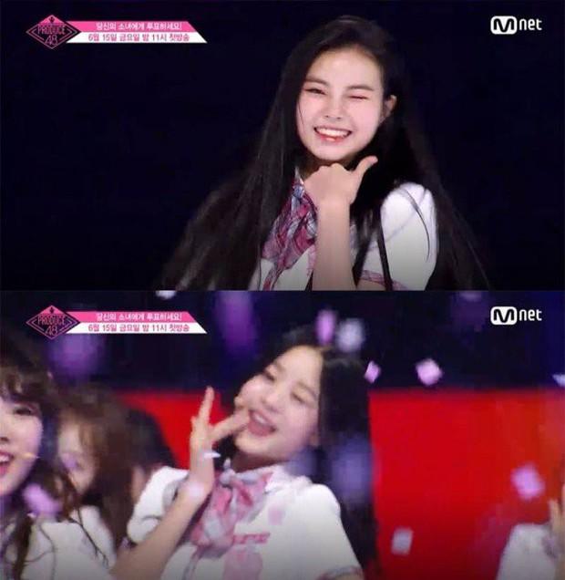 Bắt chước Park Ji Hoon, các cô gái Produce 48 cũng thi nhau nháy mắt lia lịa - Ảnh 12.