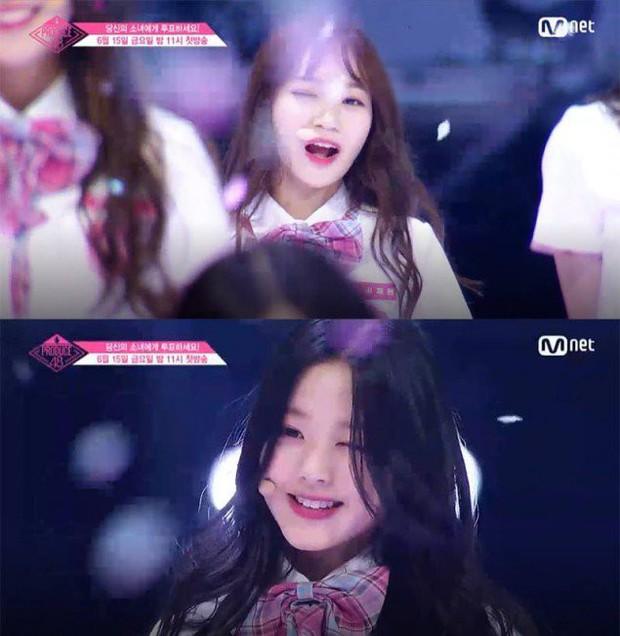 Bắt chước Park Ji Hoon, các cô gái Produce 48 cũng thi nhau nháy mắt lia lịa - Ảnh 13.