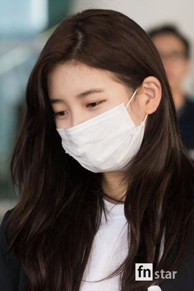 3 sao nữ hạng A xứ Hàn đổ bộ sân bay: Suzy diện đồ thùng thình vẫn đẹp là thế, Yuri lại xuống sắc già nua khó tin - Ảnh 7.