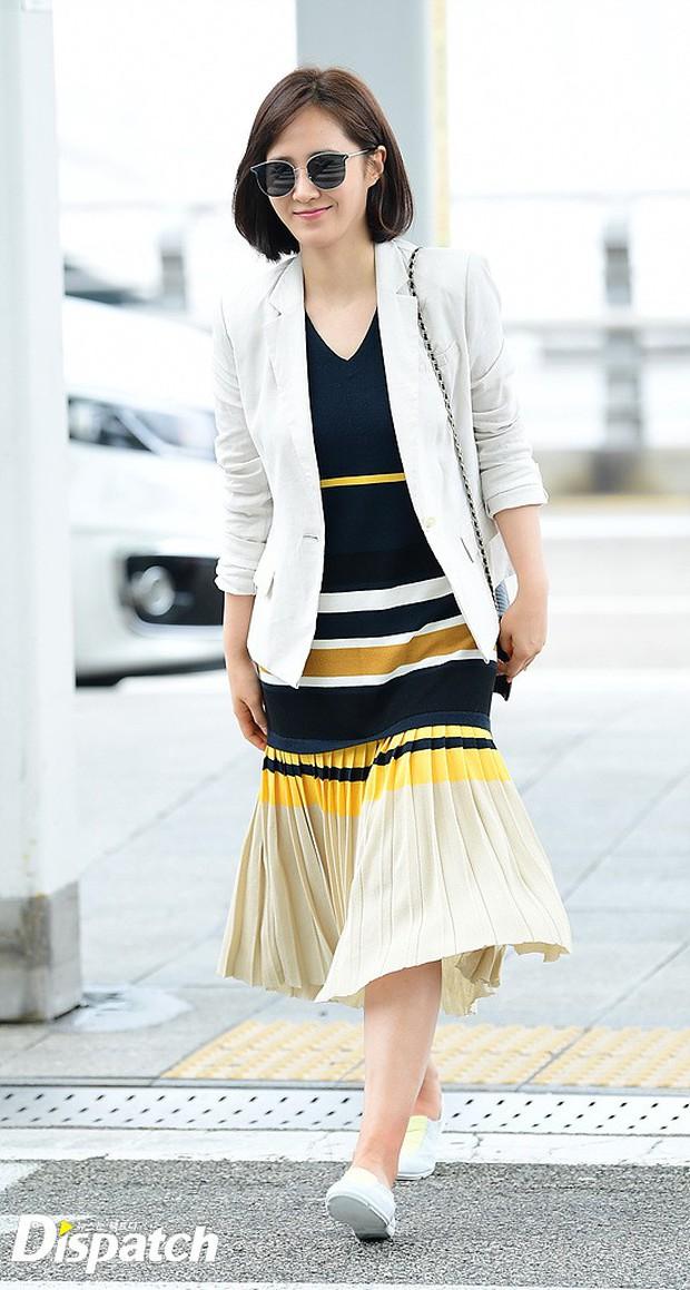 3 sao nữ hạng A xứ Hàn đổ bộ sân bay: Suzy diện đồ thùng thình vẫn đẹp là thế, Yuri lại xuống sắc già nua khó tin - Ảnh 8.