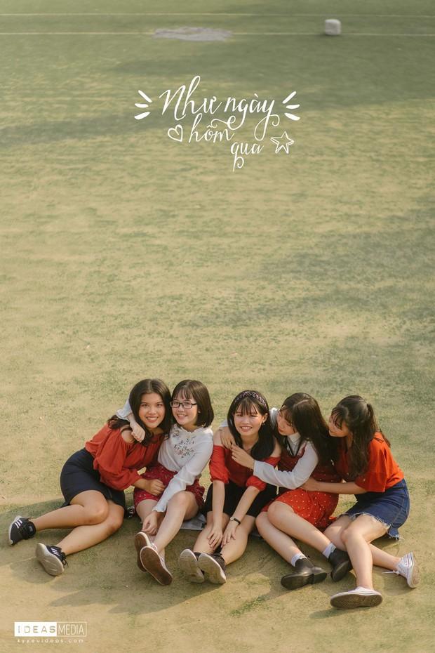 HS trường Trưng Vương Sài Gòn chụp ảnh kỷ yếu theo phong cách Phía trước là bầu trời - Ảnh 8.