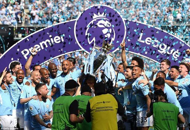 Tổng kết Premier League 2017/18: Man City vô địch với 100 điểm kỷ lục - Ảnh 1.
