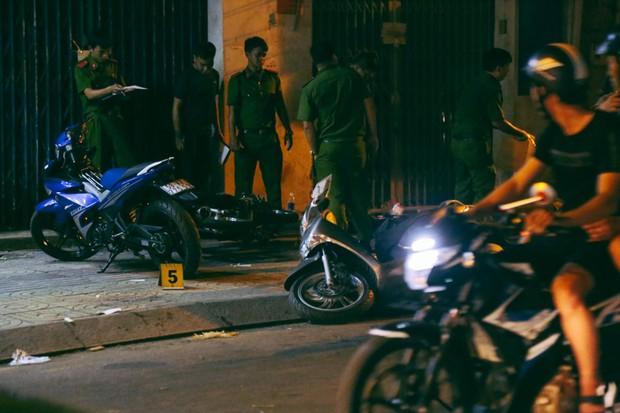 Hiện trường vụ án mạng kinh hoàng trên đường CMT8 khiến 6 hiệp sĩ đường phố bị băng cướp đâm thương vong - Ảnh 10.