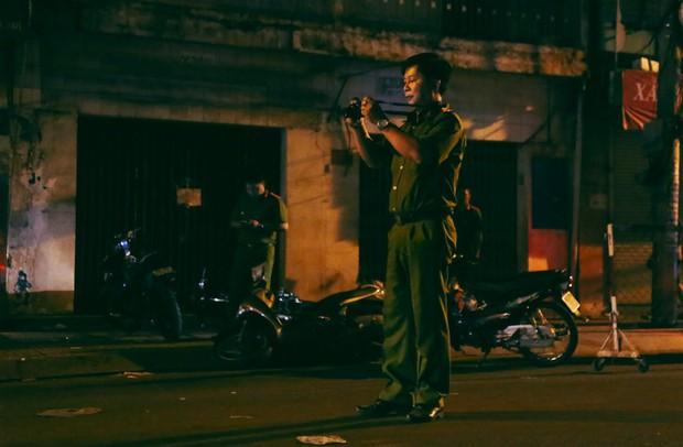 Hiện trường vụ án mạng kinh hoàng trên đường CMT8 khiến 6 hiệp sĩ đường phố bị băng cướp đâm thương vong - Ảnh 7.