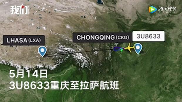 Kính chắn gió bị xé toạc trên độ cao 9700m khiến máy bay của Sichuan Airlines phải hạ cánh khẩn cấp - Ảnh 1.