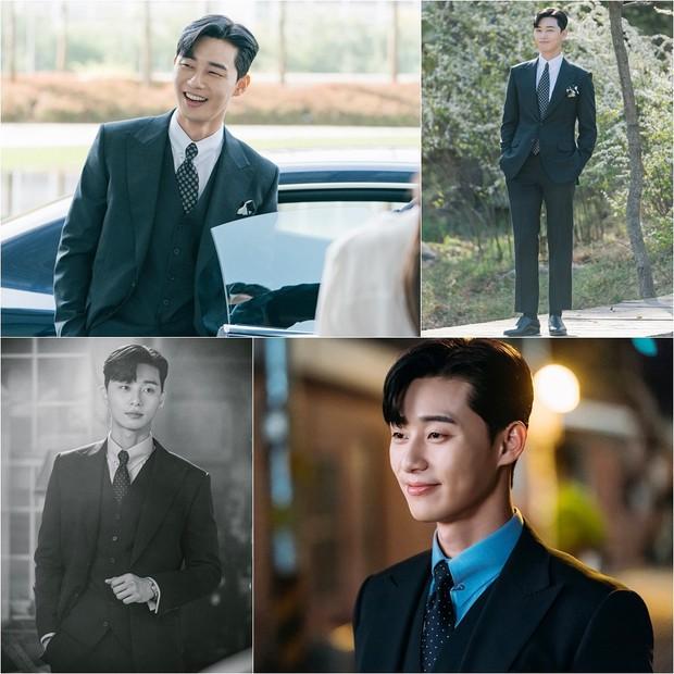 Còn lâu mới chiếu, phim mới của Park Seo Joon - Park Min Young đã gây sốt vì thời trang quá đẹp - Ảnh 2.