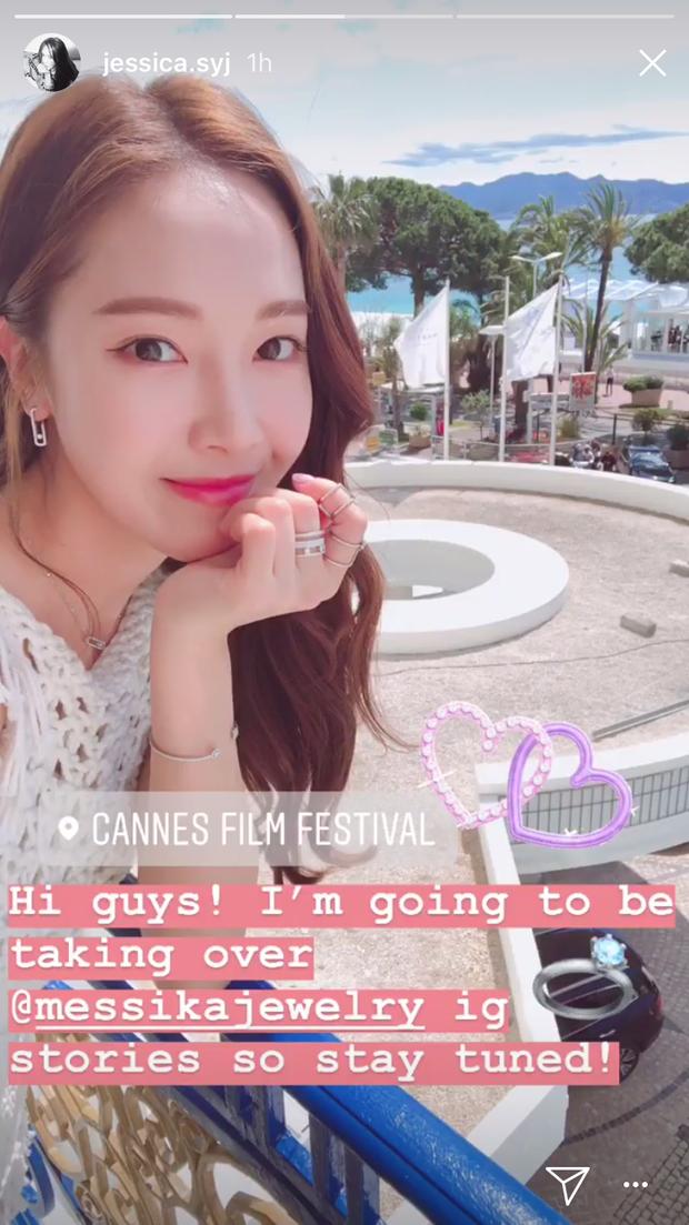 Hậu trường Jessica Jung trước thảm đỏ Cannes: Mỹ nhân sang chảnh nổi tiếng châu Á sao lại giản dị quá đà thế này? - Ảnh 2.
