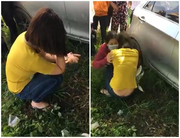 Gia đình chồng theo dõi, phát hiện con dâu ngoại tình trên ô tô ngoài cánh đồng giữa ban ngày - Ảnh 3.