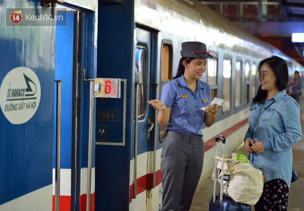Đường sắt Việt Nam tăng chuyến, thay đổi giờ tàu và thêm một đôi tàu phục vụ suất ăn miễn phí - Ảnh 1.