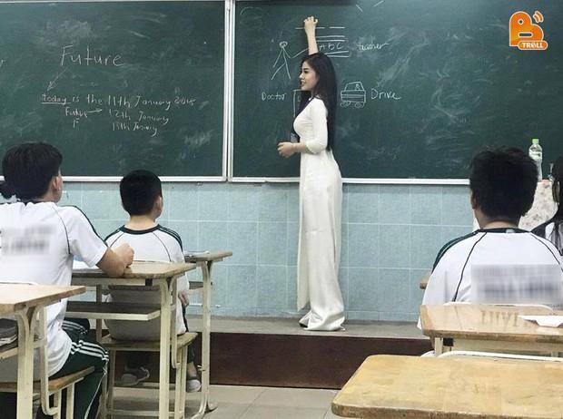 Giáo viên mà cứ xinh gái, đẹp trai như những thầy cô này thì học sinh sẽ chăm đi học lắm đây! - Ảnh 9.