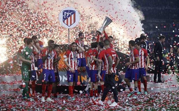 Griezmann chói sáng, Atletico lần thứ ba vô địch Europa League - Ảnh 13.