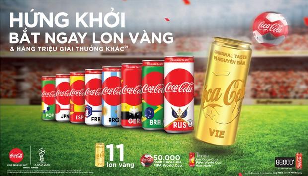 Đón World Cup 2018, Coca-Cola không quên cổ vũ giấc mơ vàng của bóng đá Việt - Ảnh 2.