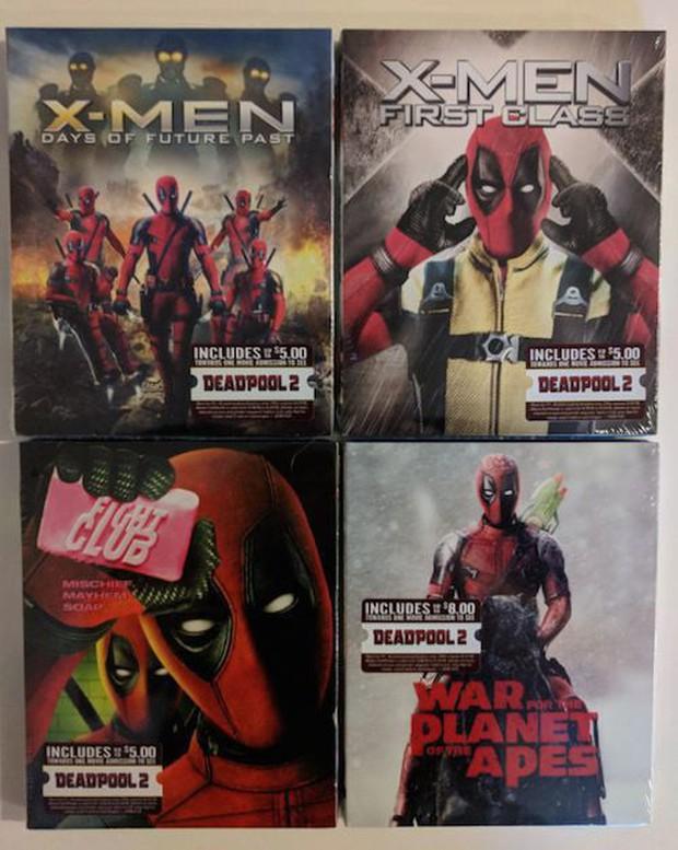 Deadpool đã xâm chiếm Walmart, giờ DVD nào cũng là phim Deadpool! - Ảnh 2.