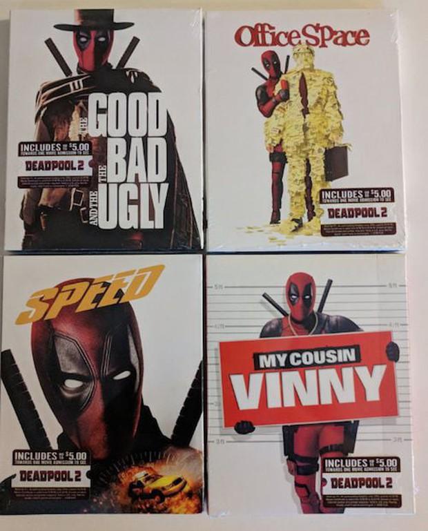Deadpool đã xâm chiếm Walmart, giờ DVD nào cũng là phim Deadpool! - Ảnh 3.
