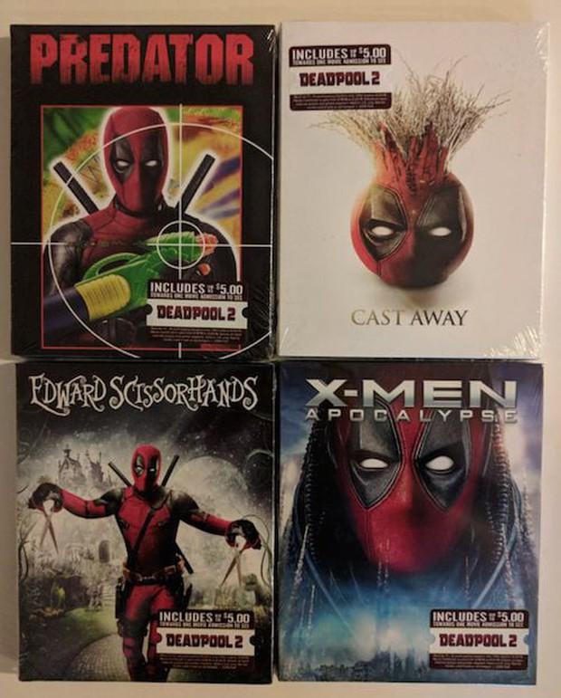 Deadpool đã xâm chiếm Walmart, giờ DVD nào cũng là phim Deadpool! - Ảnh 6.