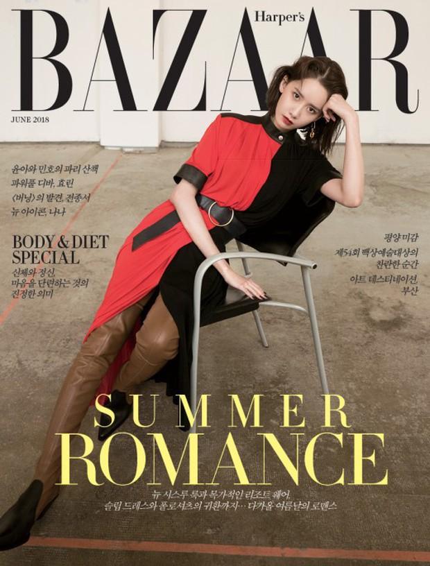 Gây bão vì như ông hoàng bà hoàng ở Paris từ tháng 3, Yoona và Minho ém kỹ giờ mới tung hình tạp chí - Ảnh 1.
