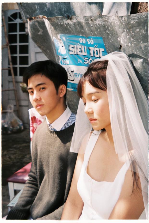 30 phút mượn vườn nhà bác hàng xóm, 9X Việt cho ra bộ ảnh cưới chất như film Hong Kong - Ảnh 4.