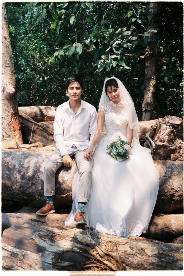 30 phút mượn vườn nhà bác hàng xóm, 9X Việt cho ra bộ ảnh cưới chất như film Hong Kong - Ảnh 10.
