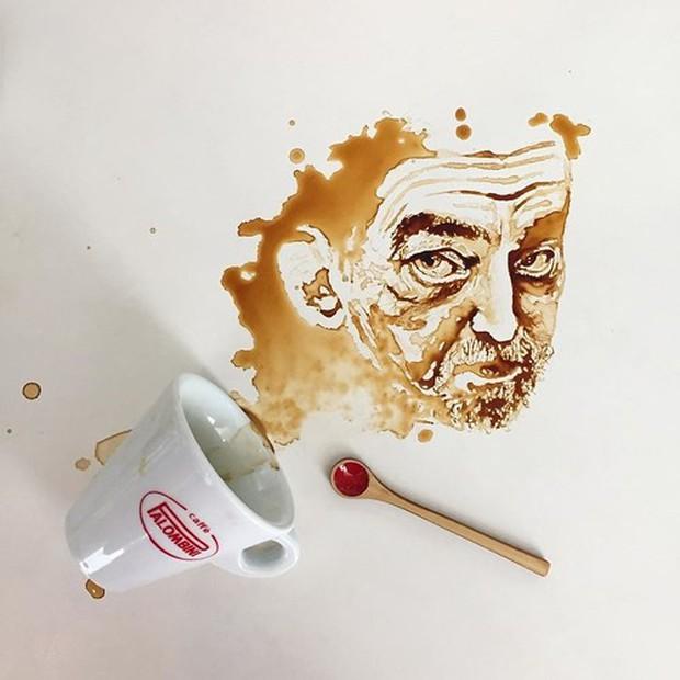 Ngắm những tác phẩm tuyệt đẹp từ trà và cà phê - Ảnh 17.