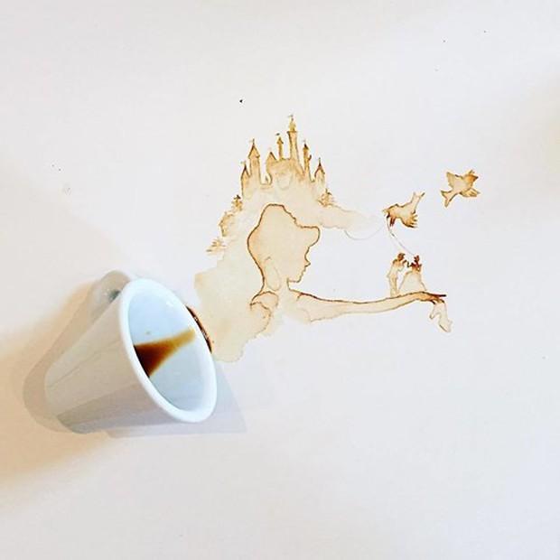 Ngắm những tác phẩm tuyệt đẹp từ trà và cà phê - Ảnh 18.