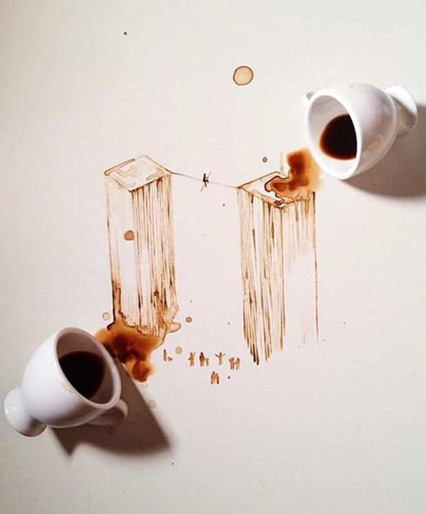 Ngắm những tác phẩm tuyệt đẹp từ trà và cà phê - Ảnh 9.
