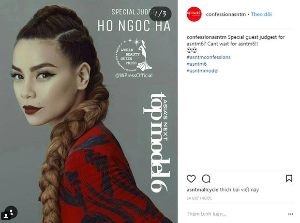 Rộ tin Hồ Ngọc Hà làm giám khảo khách mời tại Next Top châu Á 2018 - Ảnh 6.
