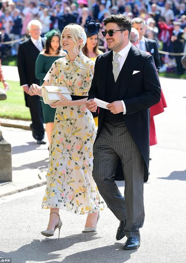 Loạt khoảnh khắc đẹp như mơ của vợ chồng Beckham và dàn sao Hollywood tại đám cưới Hoàng tử Harry - Ảnh 17.