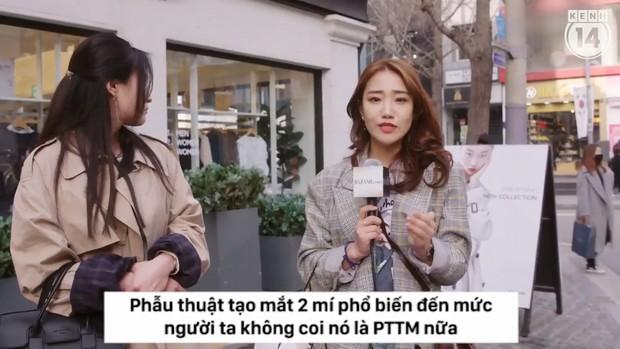 Clip phỏng vấn con gái Hàn Quốc về việc dao kéo: phẫu thuật tạo mắt 2 mí phổ biến đến mức người ta không coi đây là PTTM nữa - Ảnh 4.
