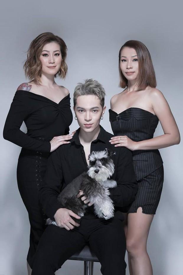 Kelbin Lei khoe ảnh gia đình, cư dân mạng nhìn vào cứ tưởng là poster phim TVB - Ảnh 5.