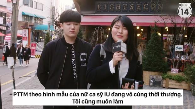 Clip phỏng vấn con gái Hàn Quốc về việc dao kéo: phẫu thuật tạo mắt 2 mí phổ biến đến mức người ta không coi đây là PTTM nữa - Ảnh 5.