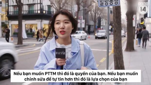 Clip phỏng vấn con gái Hàn Quốc về việc dao kéo: phẫu thuật tạo mắt 2 mí phổ biến đến mức người ta không coi đây là PTTM nữa - Ảnh 10.