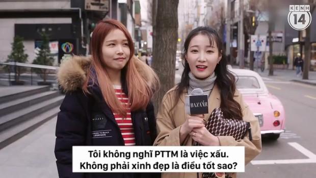 Clip phỏng vấn con gái Hàn Quốc về việc dao kéo: phẫu thuật tạo mắt 2 mí phổ biến đến mức người ta không coi đây là PTTM nữa - Ảnh 11.