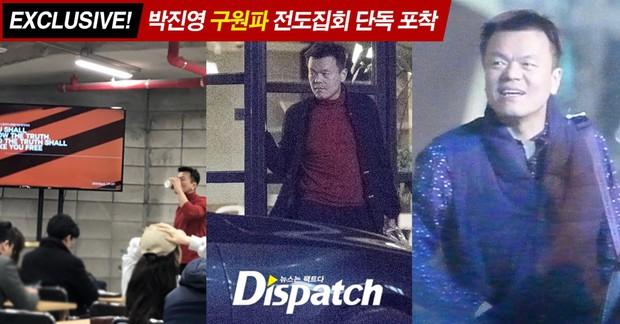 Showbiz Hàn chấn động khi Dispatch tung bằng chứng Bae Yong Joon và chủ tịch JYP tham gia hội cuồng giáo - Ảnh 1.