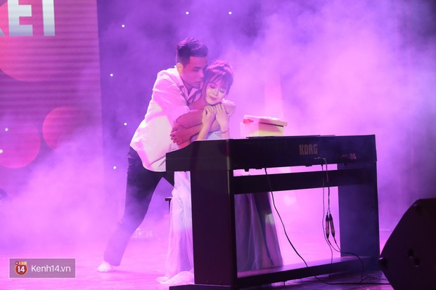 Cặp đôi trai tài gái sắc đăng quang Nam vương và Hoa khôi của HV Tài chính - Ảnh 5.