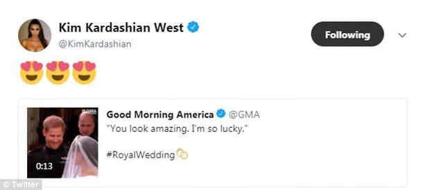 Kim Kardashian, Adele cùng loạt sao bày tỏ sự ngưỡng mộ đám cưới Hoàng tử Harry - Ảnh 3.