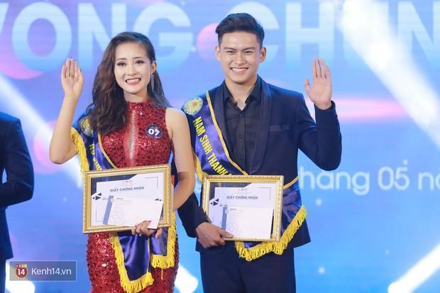 Cặp đôi trai tài gái sắc đăng quang Nam vương và Hoa khôi của HV Tài chính - Ảnh 10.