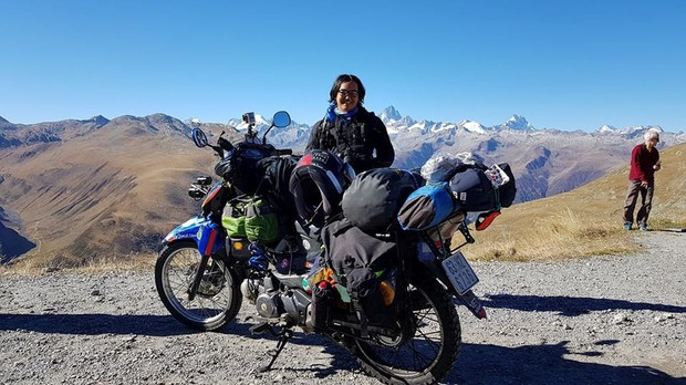 Trần Đặng Đăng Khoa và chiếc xe máy vòng quanh thế giới: Không phải nói đi là mai đi luôn, hành trình đó phải chuẩn bị trong nhiều năm trời - Ảnh 2.