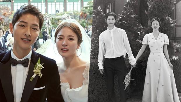 Rần rần khi Song Hye Kyo khoe ảnh hoa ông xã tặng, cùng vợ chồng nàng cỏ đăng ảnh kỷ niệm một ngày đặc biệt - Ảnh 1.