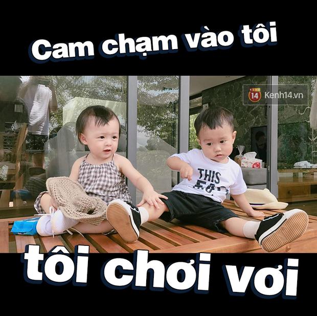 Nhật ký sắp 2 tuổi bằng meme đầy khí chất của Nguyễn Tùng Xoài - con trai Trang Lou và Tùng Sơn - Ảnh 23.