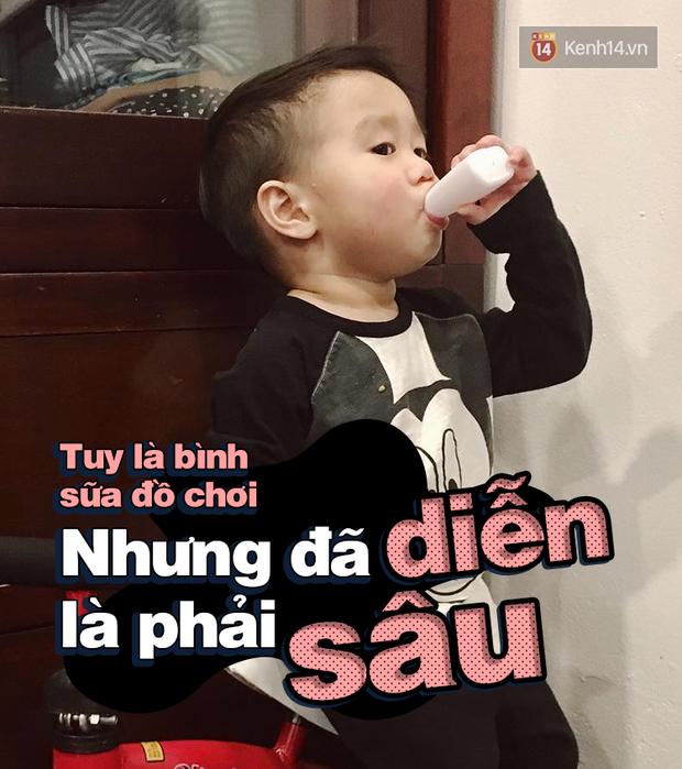 Nhật ký sắp 2 tuổi bằng meme đầy khí chất của Nguyễn Tùng Xoài - con trai Trang Lou và Tùng Sơn - Ảnh 5.