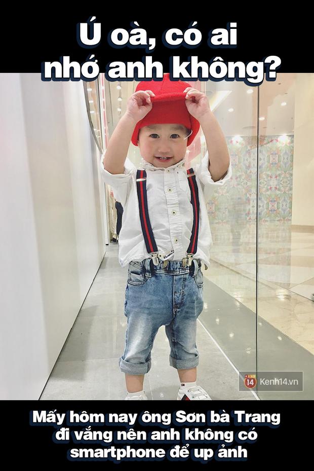 Nhật ký sắp 2 tuổi bằng meme đầy khí chất của Nguyễn Tùng Xoài - con trai Trang Lou và Tùng Sơn - Ảnh 7.
